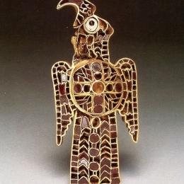 Ostrogothic Eagle-shape brooch RA32L