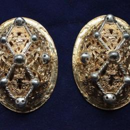 Viking female oval  brooch ra05l