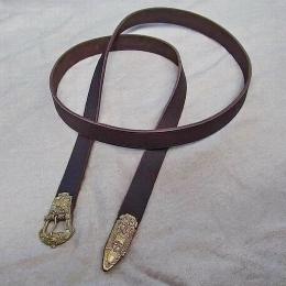 Scandinavian leather belt, Birka, 10c   RBS03