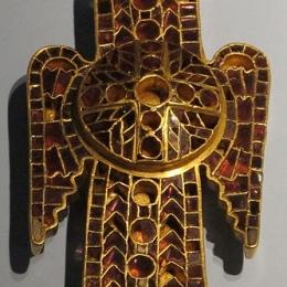 Ostrogothic Eagle-shape brooch RA32R