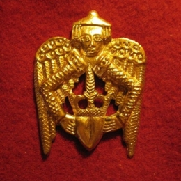 "M07  ""Winged heart""  Badge"