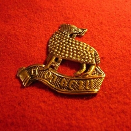 """M32 """"Agnus Dei"""" medieval piligrim badge"""