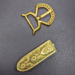 Small belt set from Hungary, 10 c.