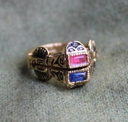 Medieval wedding ring, Germany ER11