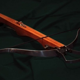 Harquebus butt crossbow