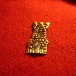 "M35 ""Tower"" medieval piligrim badge"