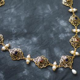 Necklace from the portrait of Eleonora di Toledo