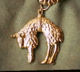 The Order of the Golden Fleece collar pendant