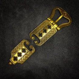 Belt set, England, 15c, 24mm