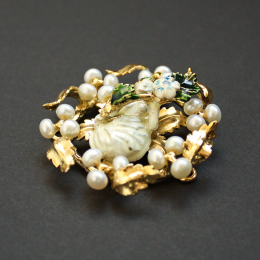 Central brooch from the Cleveland Necklace, France