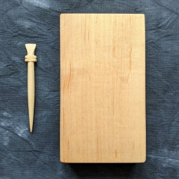 Wax tablet with stylus