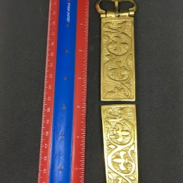 Medieval belt set, Hungary, 13-14 c.