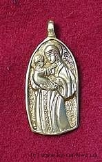 Medieval St Mary Pendant EP03