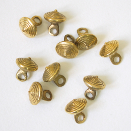 10 x Button Rus 12-13 cent. rb08