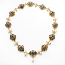 Necklace from the portrait of Eleonora di Toledo