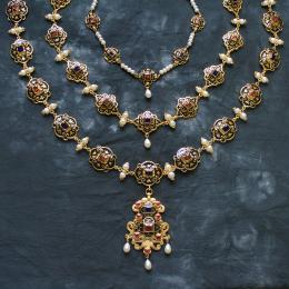 Eleonora di Toledo jewelry set