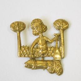 m70 Medieval carnival badge (stock)