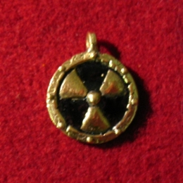 "SP04 ""Radiation hazard"" Pendant"