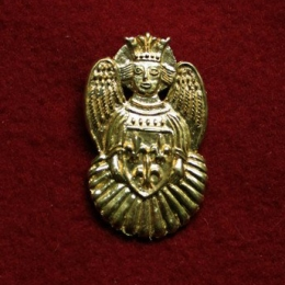 m84 Medieval piligrim badge