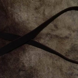 EBS12 Leather belt from England
