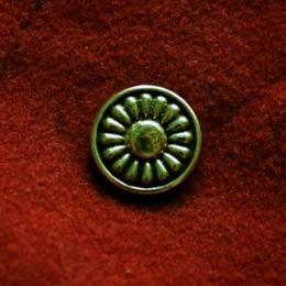 Cast rosette with rivet  tn14