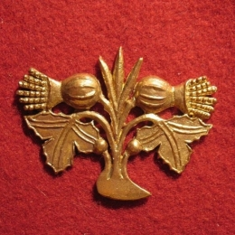 "M04 ""Pomegranate branch"" medieval piligrim badge"
