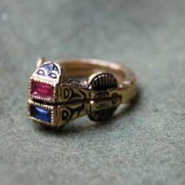 Medieval wedding ring, Germany ER11