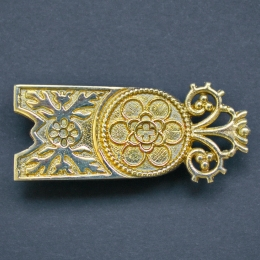 Medieval belt strap end, England EX30