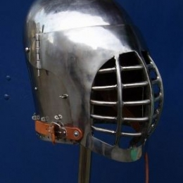 Bascinet with bargrill