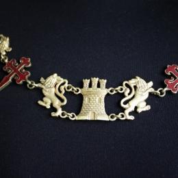 Spanish Knight's Heraldic Chain (Collar)