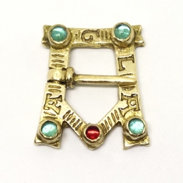 A-shaped medieval brooch, Europe EA30