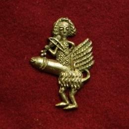 m69 Medieval carnival badge