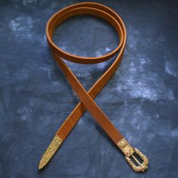 Scandinavian leather belt, Gnezdovo  10th cent RBS14
