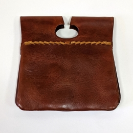 Medieval pouch with embossing
