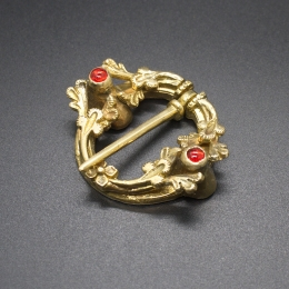 Medieval ring brooch EA60
