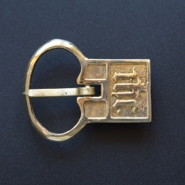 Medieval buckle, England E27