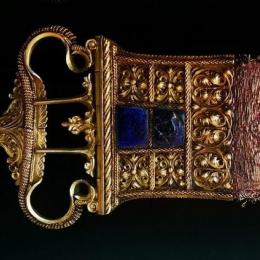 Italian belt set, 15th century