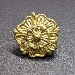 """Medieval """"rose"""" button EB06 by ArmourAndCastings"""