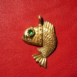 "SP03 ""Angry fish"" Pendant"