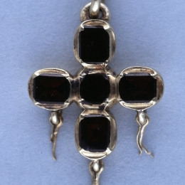 Late medieval Cross pendant EA53