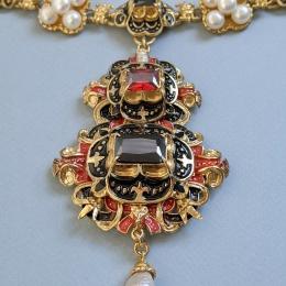 Pendant from Elisabeth of Austria jewelry set
