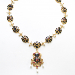Belt with pendant from the portrait of Eleonora di Toledo