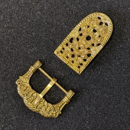 Scandinavian belt set, Gokstad, Norway, 9 c