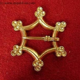 Medieval brooch, Europe EA11