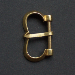 Medieval buckle, Hungary E29