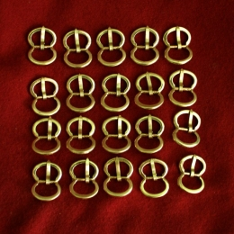 Bulk buckles set x20 E16-1