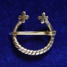 North. Rus / Scandinavia fibula brooch ra04-1