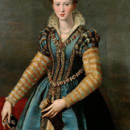 Belt with pendant from the portrait of Eleonora di Toledo