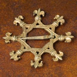 Medieval brooch,  Austria EA62