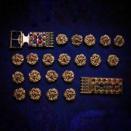 Elizabeth Luxembourg belt set